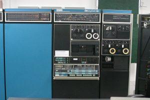 A DEC PDP-10 computer - it very large and looks like 3 fridges together